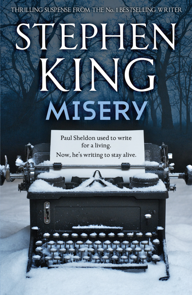 Steven King Book Cover With Fifties Style Blue Car
