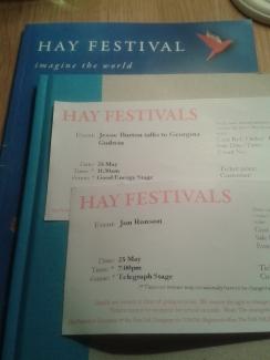 Hay Festival Jessie Burton Jon Ronson