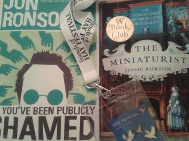 Jessie Burton Jon Ronson Hay Festival