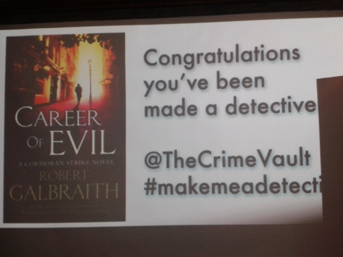 Officially a detective
