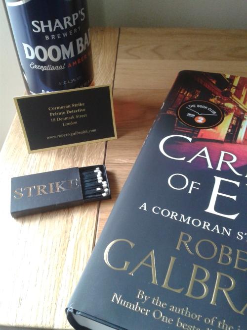 Career of Evil goody bag