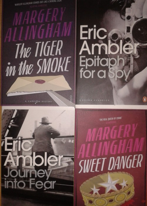Margery Allingham and Eric Ambler books