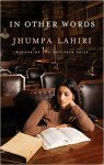 In Other Words Jhumpa Lahiri