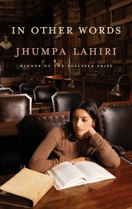 In Other Words Jhumpa Lahiri Ann Goldstein