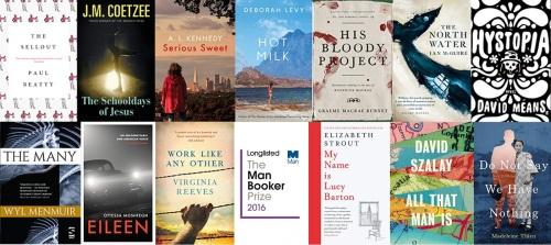 Man Booker Prize 2016 Longlist