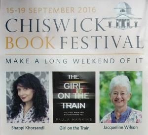 Chiswick Book Festival 2016