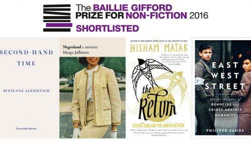 Baillie Gifford Prize for Non-Fiction 2016