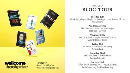 Wellcome Book Prize Blog Tour