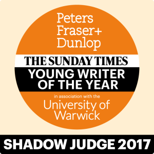 Young Writer of the Year Shadow Panel