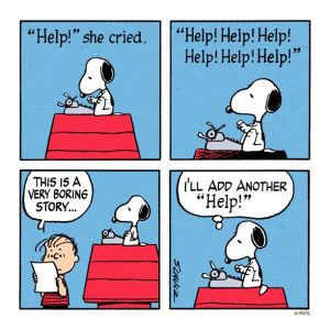 Snoopy Literary Criticism Cartoon