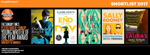 Young Writer Award Shortlist 2017