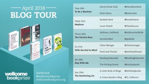 Wellcome Book Prize Blog Tour 2018