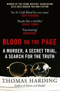 Blood on the Page Thomas Harding